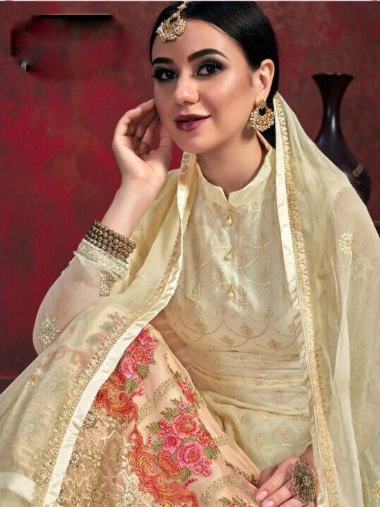 New Designer Chiffon Suit With Salwar