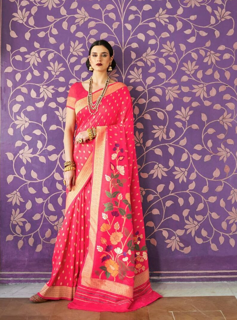 Party Wear Latest Silk Sarees Collection