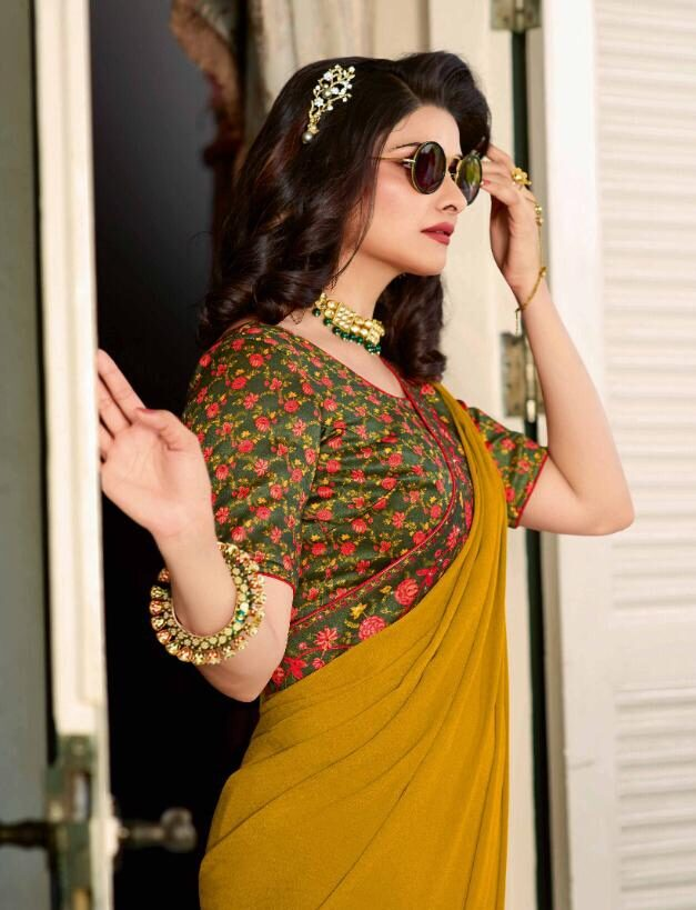 Prachi Desai Style Bollywood Designer Party Wear Sarees