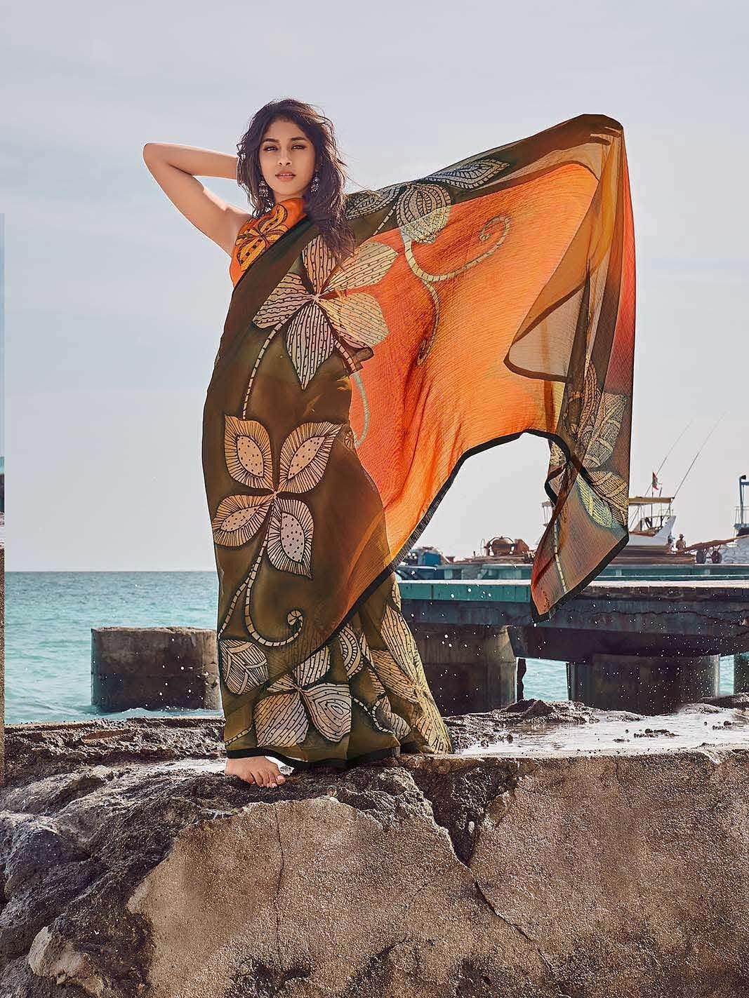 Latest Designer Saree Images with Price