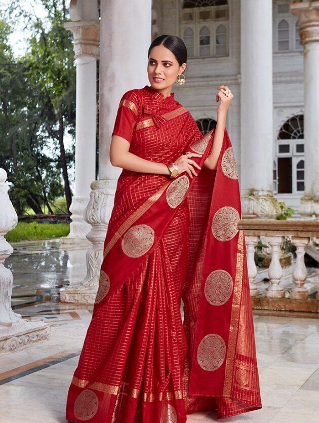 Latest Designer silk cotton sarees wholesale price