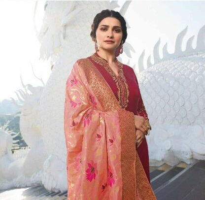 New Designer Red Color Best Salwar Suit With price