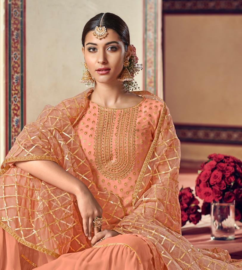 Chhoti Sardarni Style Harlin Style Sharara Suits