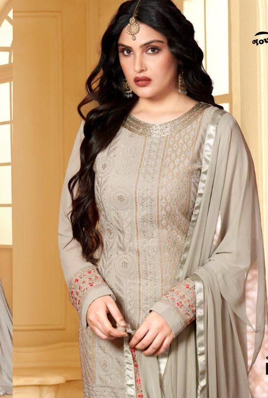 Party Wear Gota Patti Design of Sharara Dress