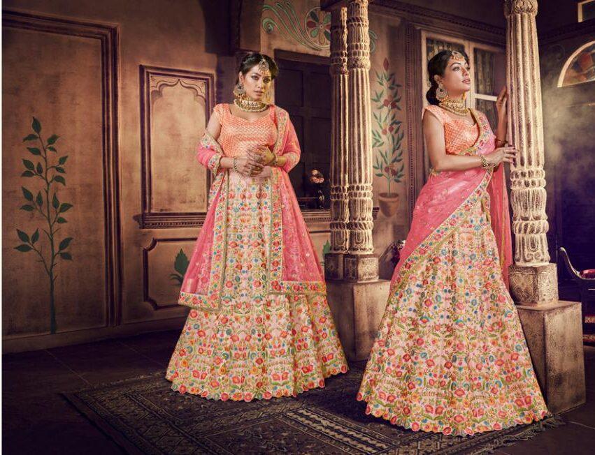Best Latest Trend Designer White Color Lehenga For Bride.