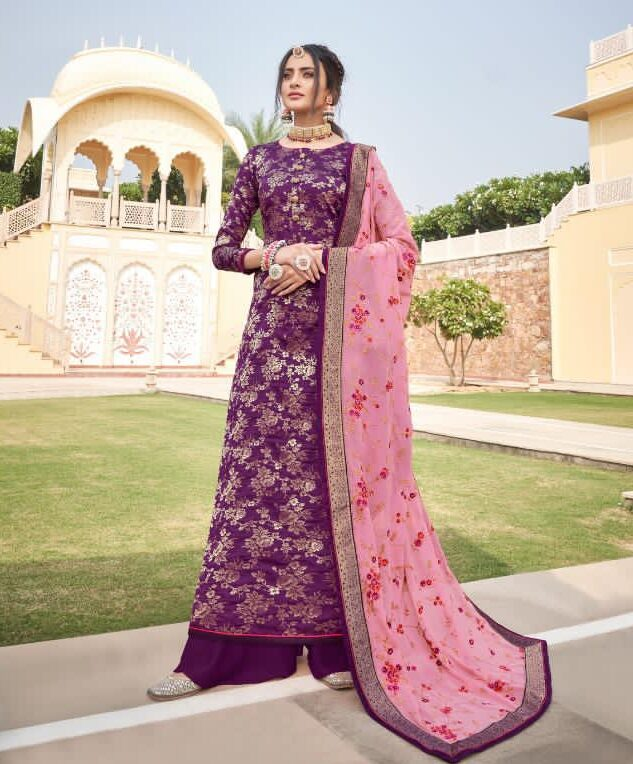 Latest Designer Heavy Punjabi Wedding Suits Online