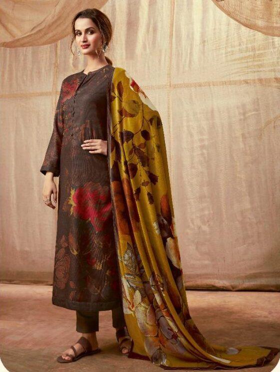 Shahi Pashmina Winter Party Wear Woolen Suit