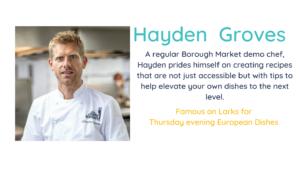 Chef Hayden Groves