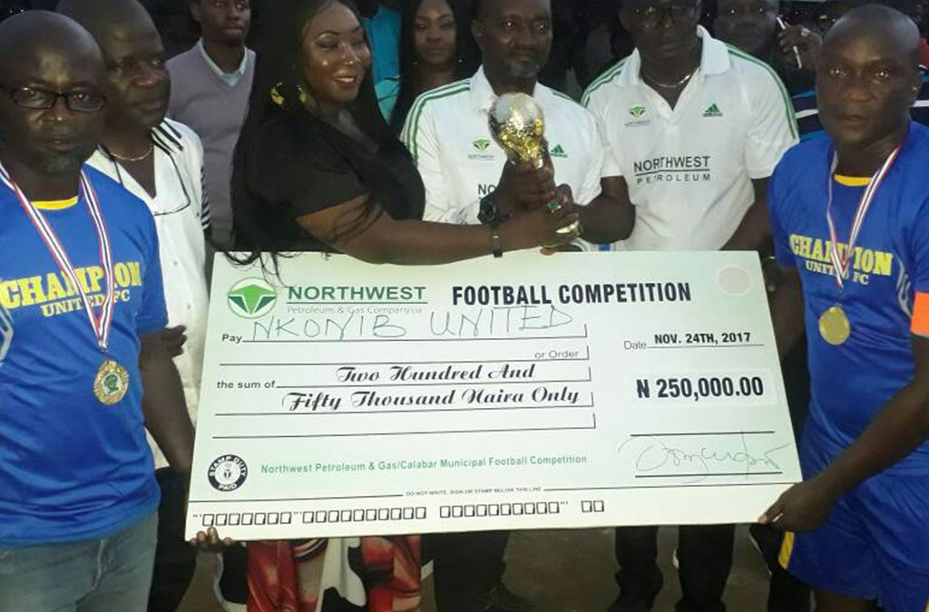 NORTHWEST PETROLEUM & GAS 2nd ANNUAL COMMUNITY FOOTBALL COMPETITION