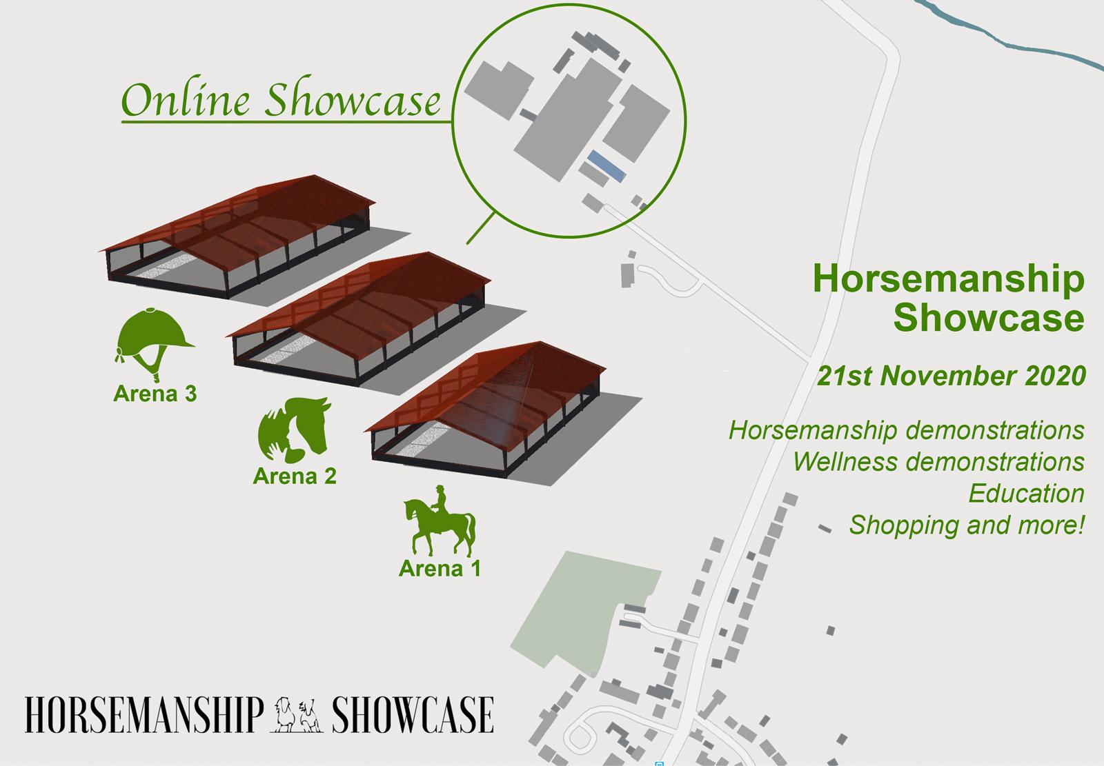 Horsemanship Showcase Map