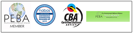London Balloon Company Memberships badges