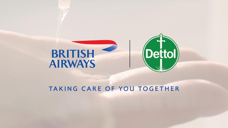 British Airways partners with Dettol