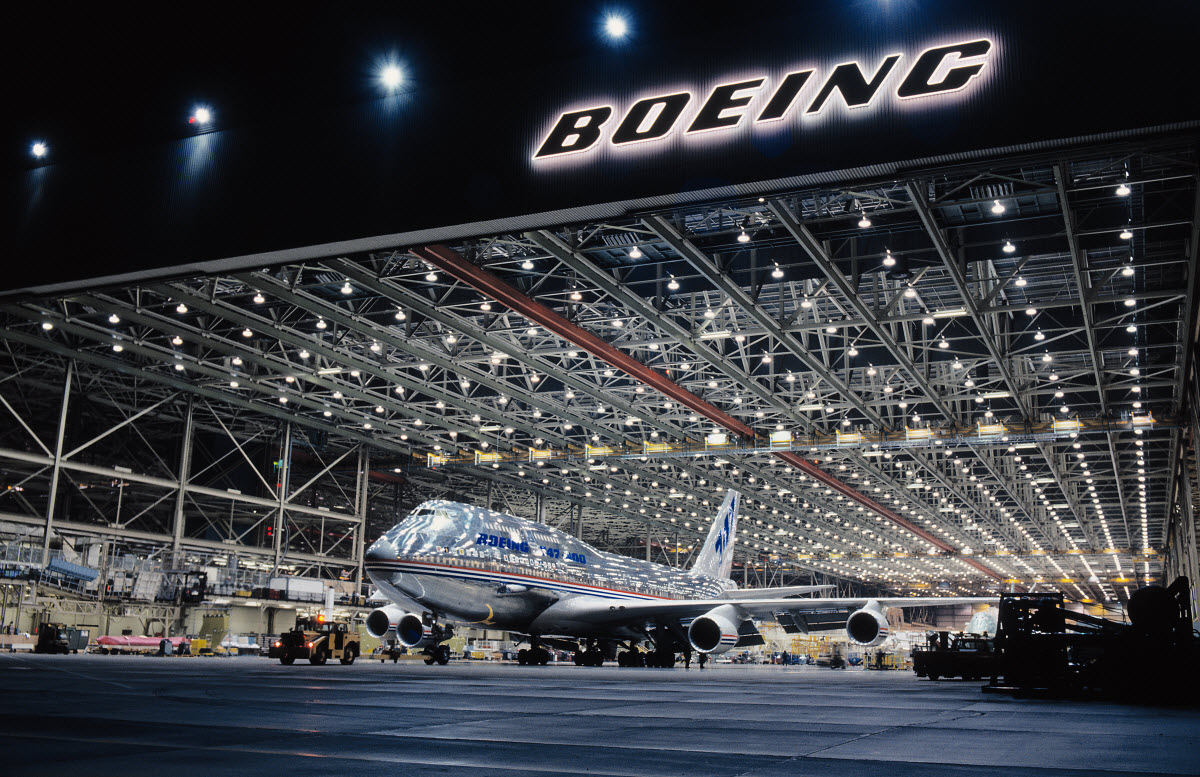 The largest building in the world is an aircraft production factory