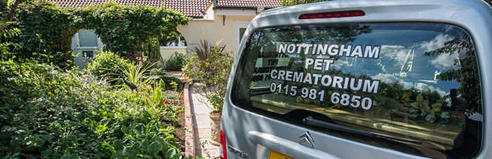 Nottingham Pet Crematorium exterior