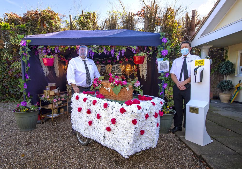 Flower Bridge at Nottingham Pet Crematorium