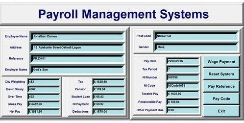 payroll management system introduction