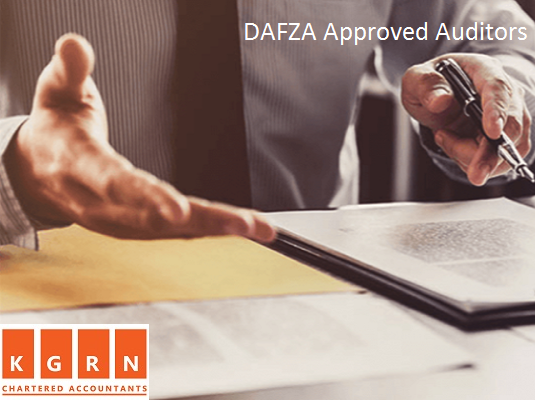 approved auditors in dafza