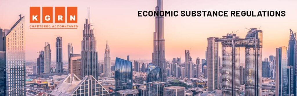 Economic Substance Regulations DUBAI, UAE