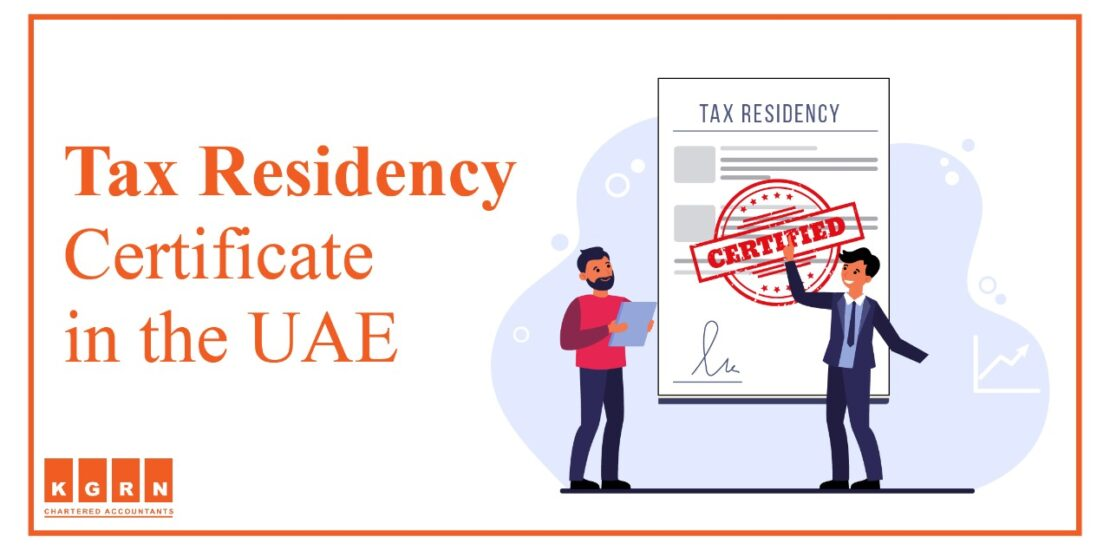 Tax Residency Certificate