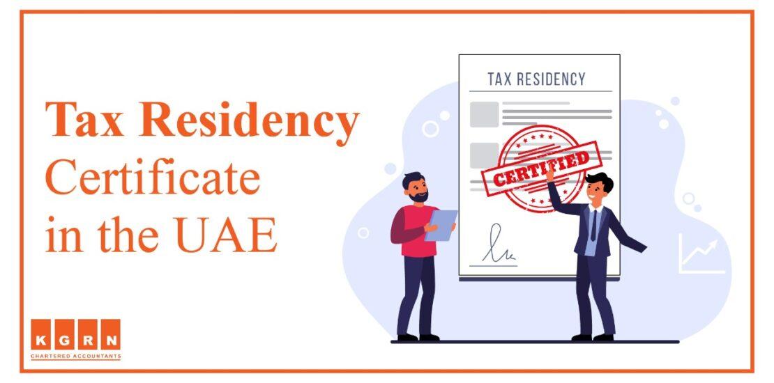 Tax Residency Certificate
