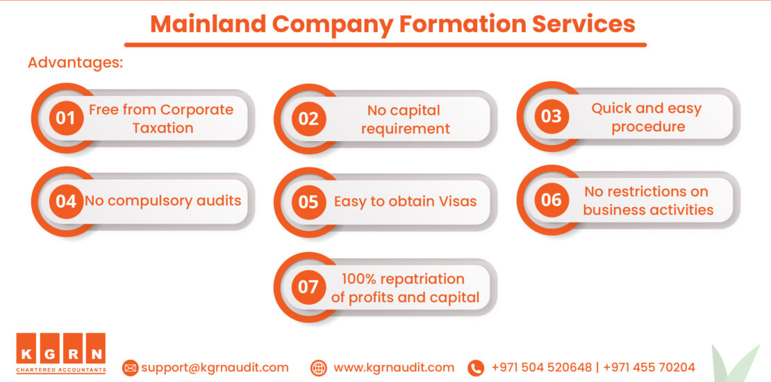 Advantages of Mainland Company Formation