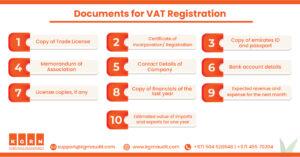 Documents for VAT Registration
