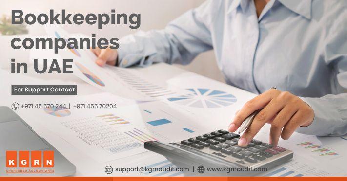 Bookkeeping companies in UAE