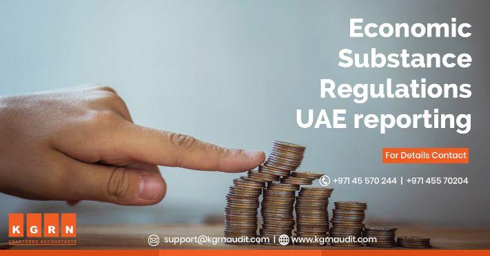 Economic Substance Regulations UAE Reporting
