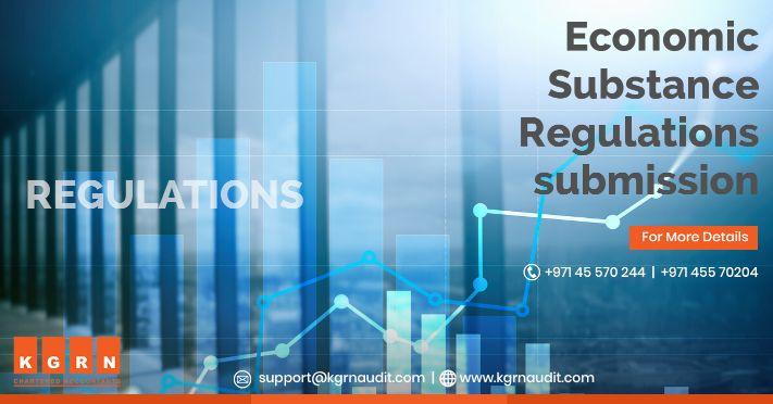 Economic Substance Regulations submission