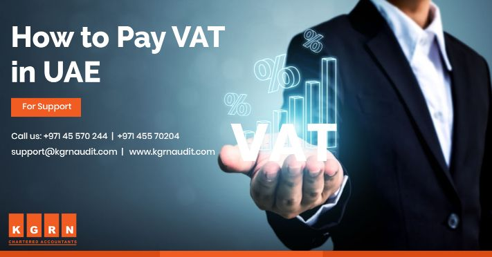 How to pay VAT in UAE