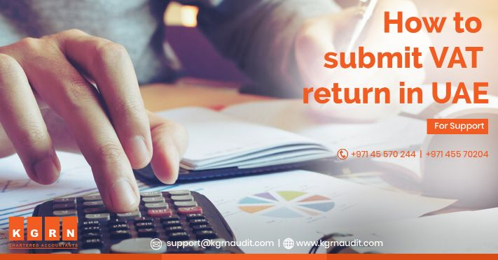 How to submit VAT return in UAE