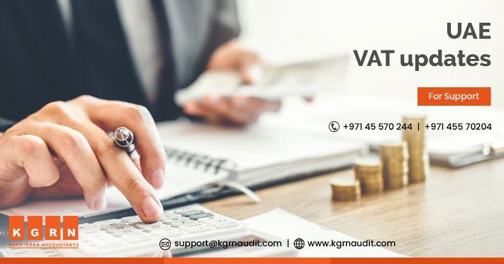 UAE VAT updates