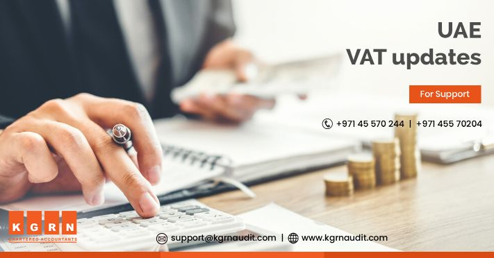 UAE VAT updates