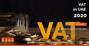 VAT in UAE 2020