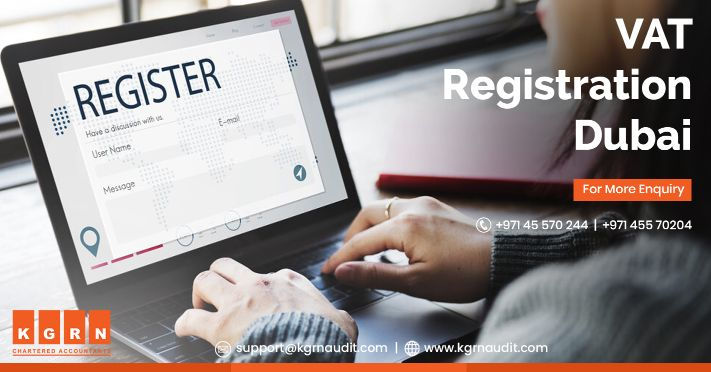Vat registration in Dubai, UAE