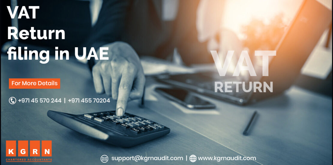 VAT return filing in UAE