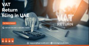 VAT return filing in UAE