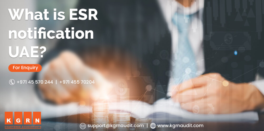 What is ESR notification UAE?