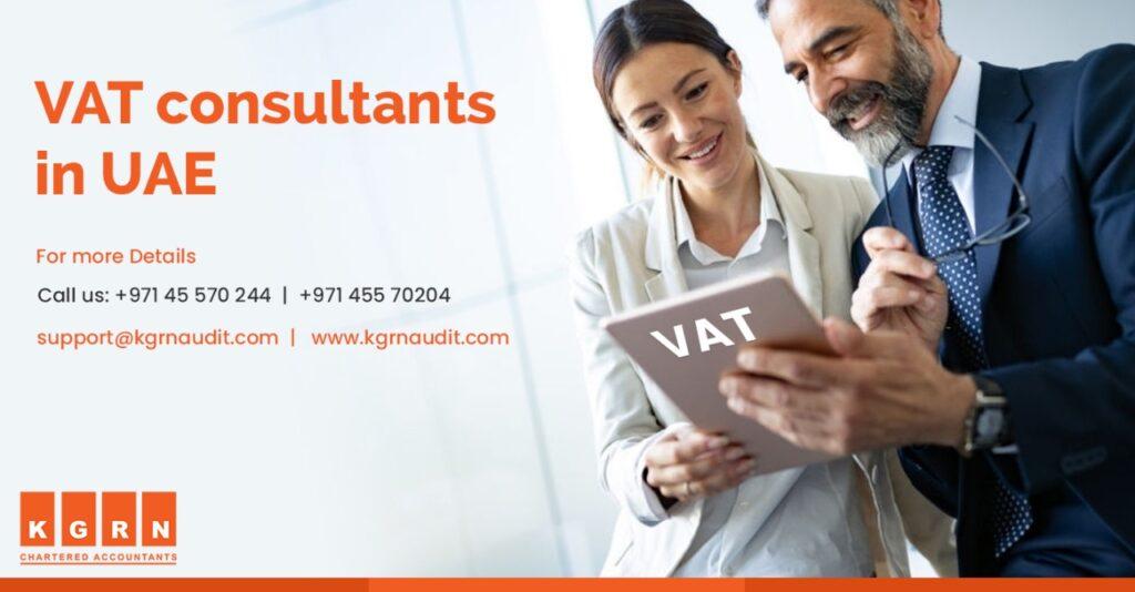 VAT Consultants in UAE