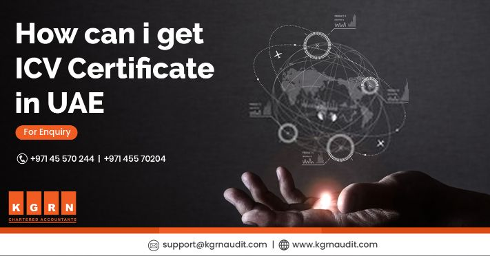 how can i get ICV certificate in uae