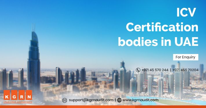 ICV certification bodies in UAE