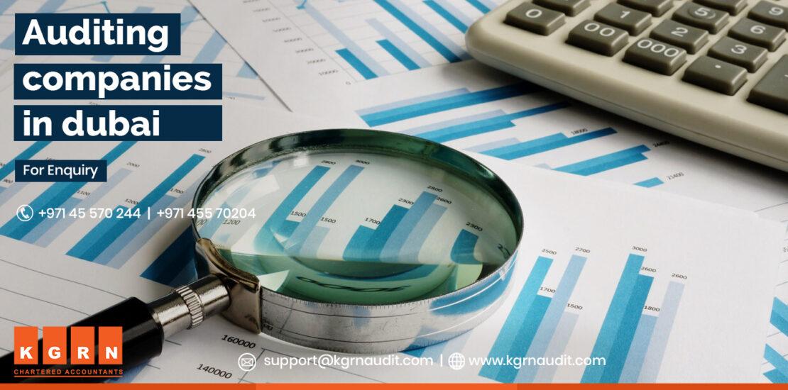 Auditing companies in dubai