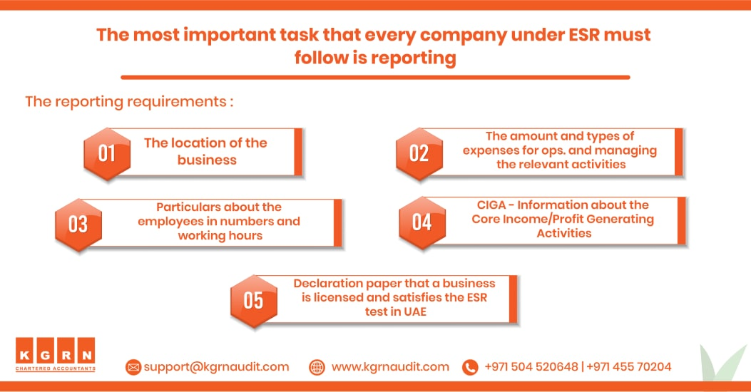 ESR Reporting Requirements