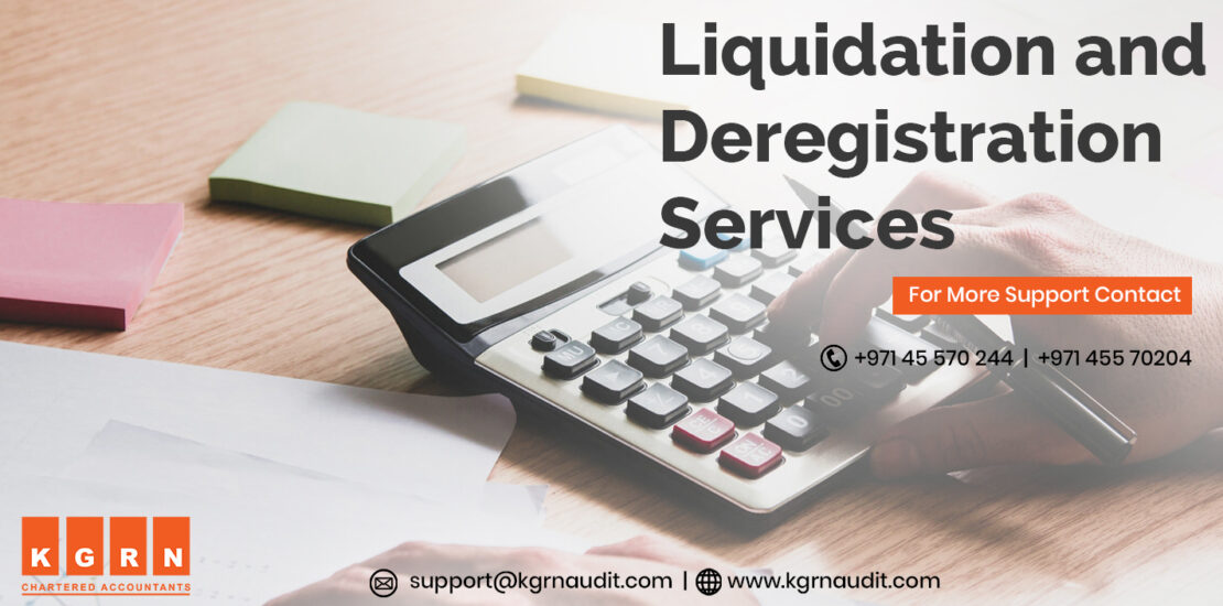 Liquidation And Deregistration Services