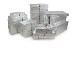 Silver Paper Jewelry Boxes