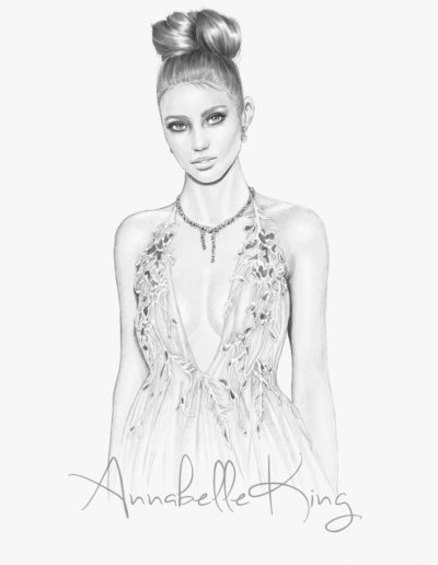 michael costello pencil illustration by annabelle king