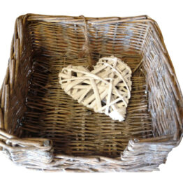 rustic willow napkin holder