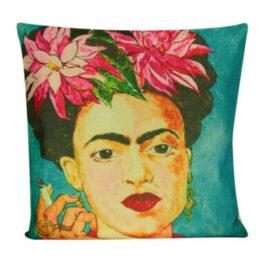 Frida Kahlo Large Print Cushion