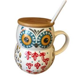 owl mug lid
