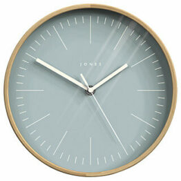 Jones Grey Scandinavian Kitchen Clock